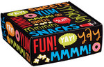 Snack Attack   8x8x3 Decorative Mailer Box