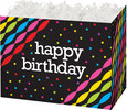 Birthday Streamers   Basket Box - Large